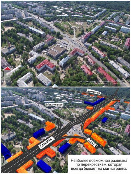 Дербышки против магистралей: под Казанью протестуют из-за строительства трасс через жилые микрорайоны