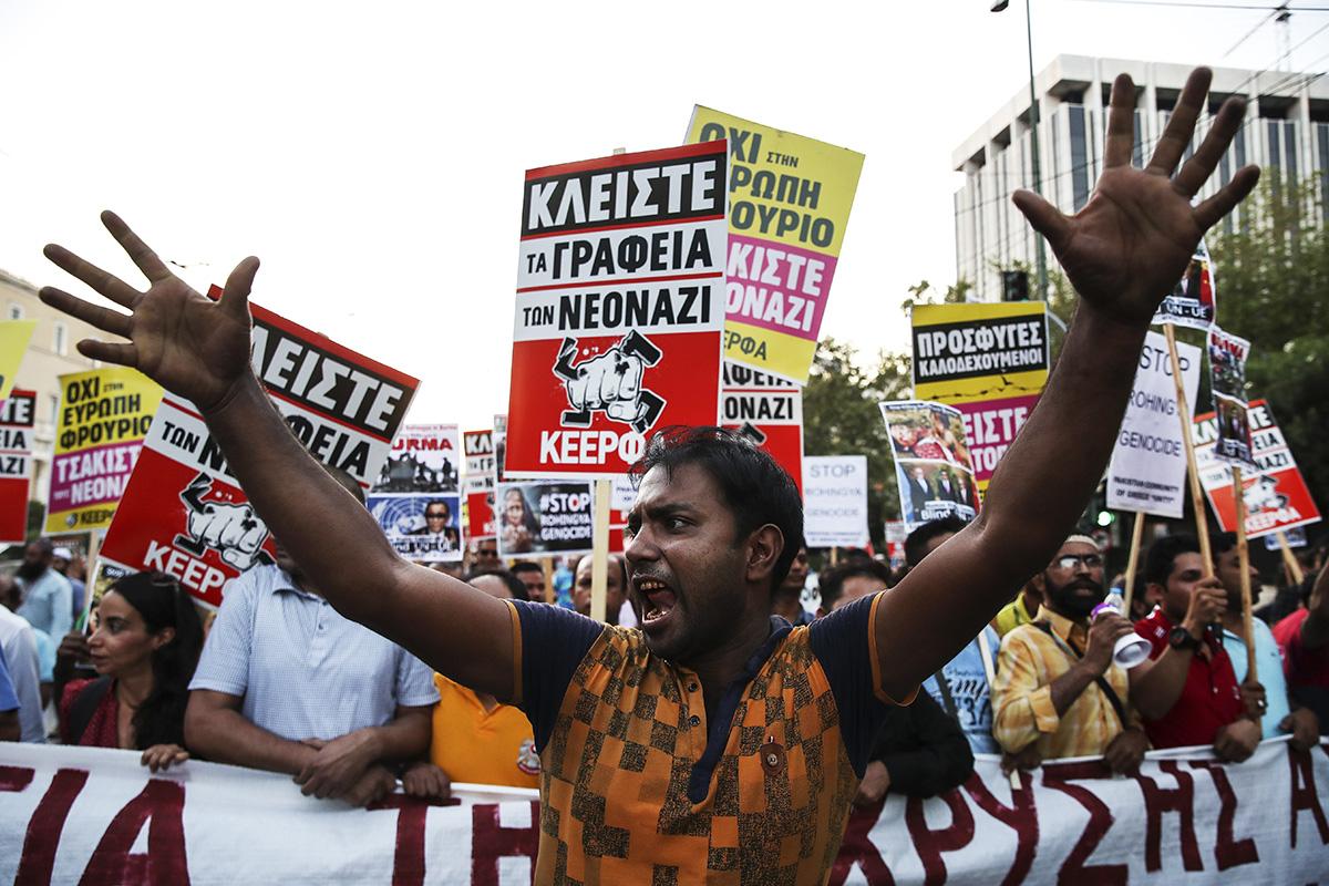 Атакующие меньшинства иновая демократия