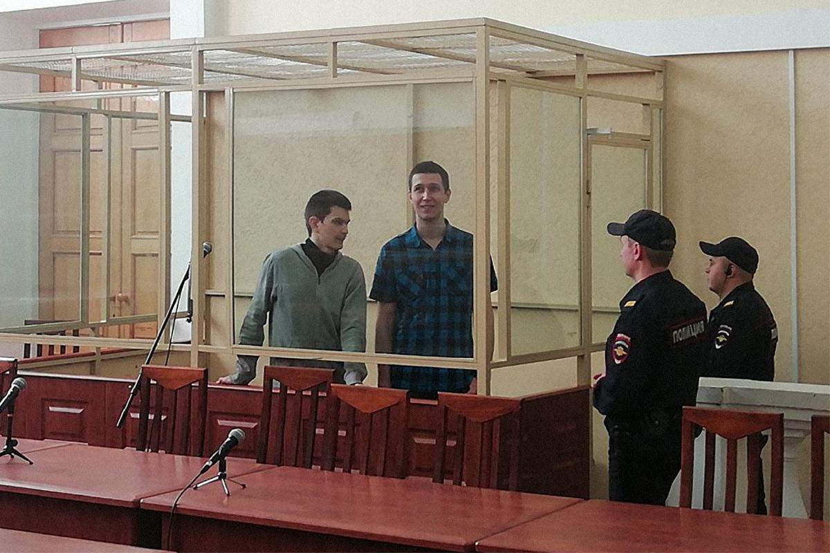 «Мальчишки, мыбудем завас бороться»: как Влада Мордасова иЯна Сидорова приговорили креальным срокам
