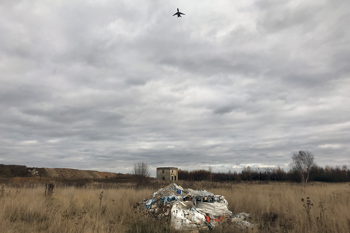 Мусор наглиссаде: что происходит сосвалками уаэропортов Москвы