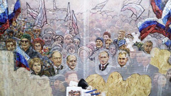 Главный храм Вооруженных сил украсят мозаикой сПутиным, Шойгу иСталиным