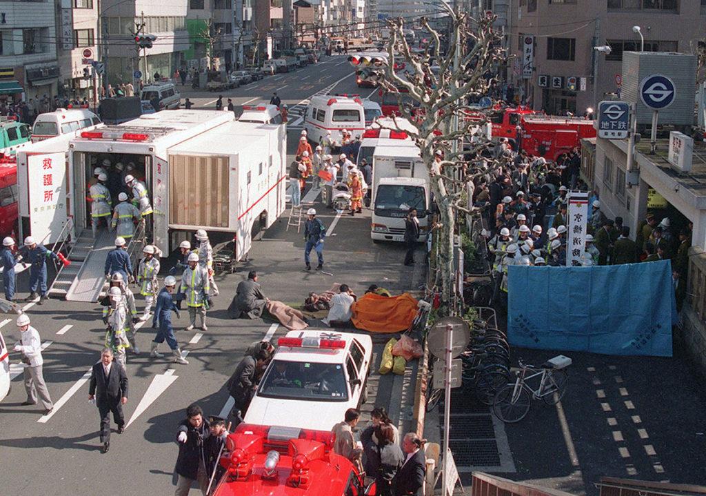 Теракт в метро в Токио