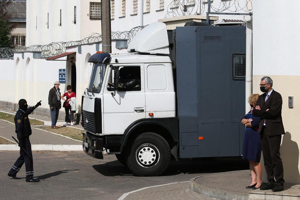 Изолятор на Окрестина в Минске